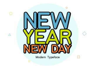 New Year New Day Font