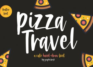 Pizza Travel Font