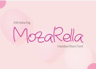 Mozarella Font