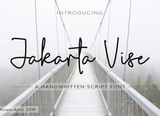 Jakarta Vise Font