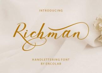 Richman Font