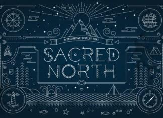 Sacred North Font