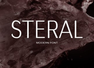 Steral Font