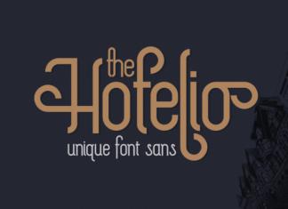 The Hotelio Font
