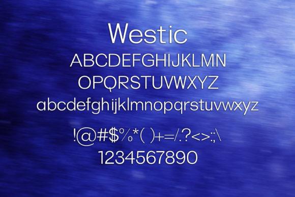 Westic Font
