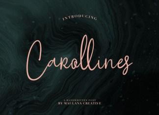 Carollines Font