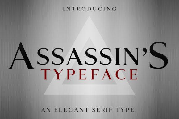 Assassin's Font