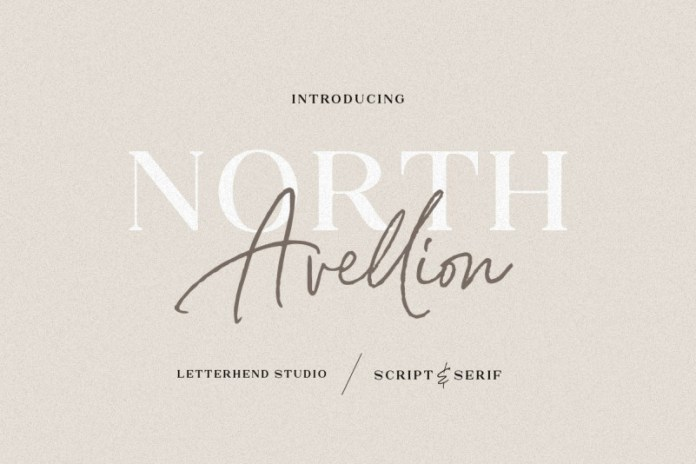 North Avellion Font