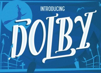 The Dolby Font