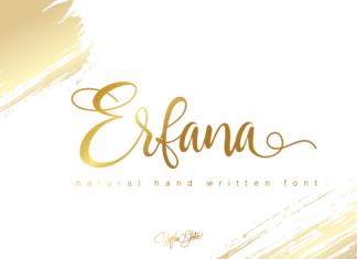 Erfana Font