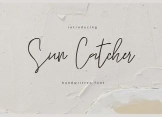 Sun Catcher Font