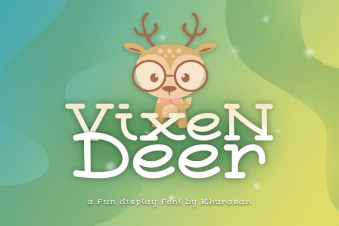 Vixen Deer Font