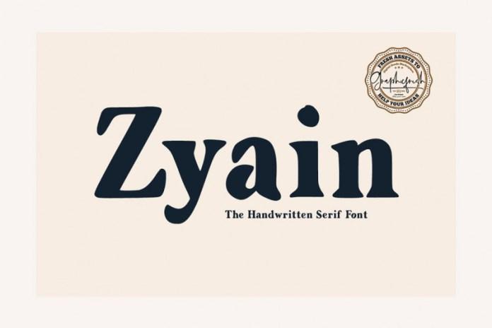 Zyain Font