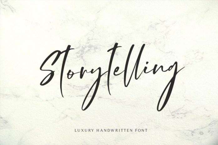 Storytelling Font