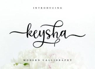 Keysha Font