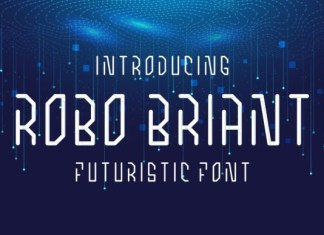 Robo Briant Font