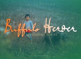Buffalo Herder Font