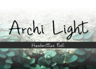 Archi Light Font