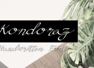 Kondoraz Font