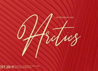 Arctics Font