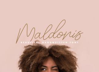 Maldonis Monoline Font
