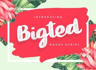Bigted Font