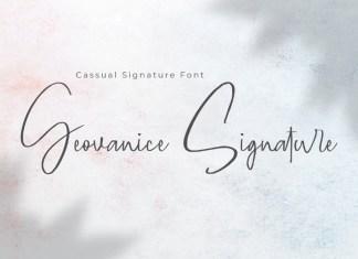 Geovanice Font
