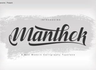 Manthek Font