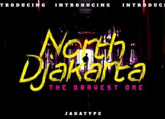 North Djakarta Font
