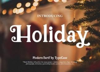 Holiday Font