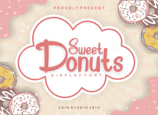 Sweet Donuts Font
