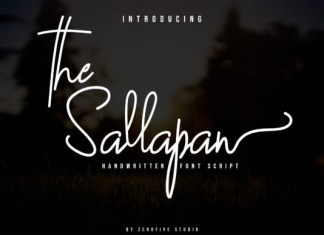 The Sallapan Font