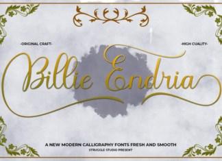 Billie Endria Font