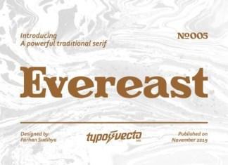 Evereast Font