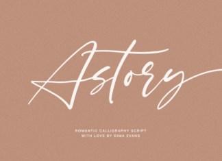 Astory Font
