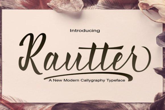 Rautter Font