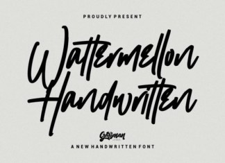 Wattermellon Font