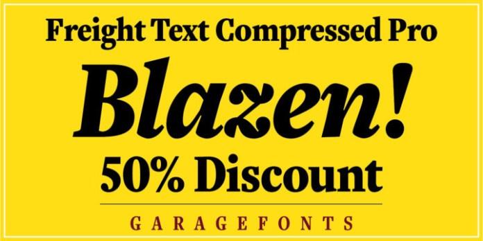 Freight Text Cmp Pro Font