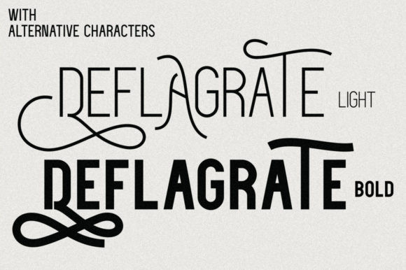 Deflagrate Font
