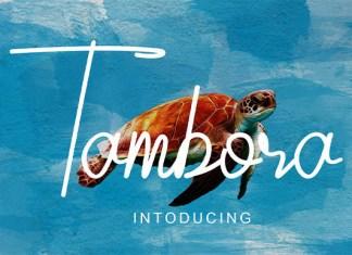 Tambora Font