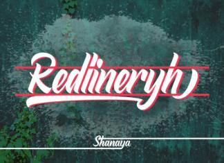 Redlineryh Font