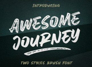 Awesome Journey Font