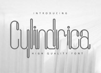 Cylindrica Font