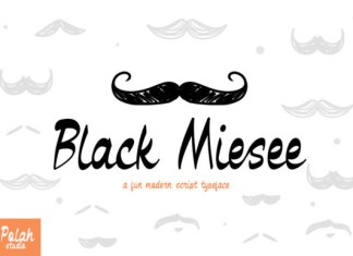 Black Miesee Font