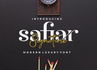 Safiar Font