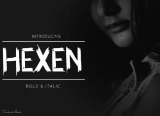 Hexen Font