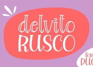 Delvito Rusco Font