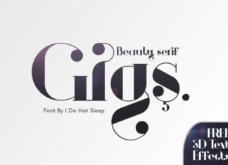 Gigs Font