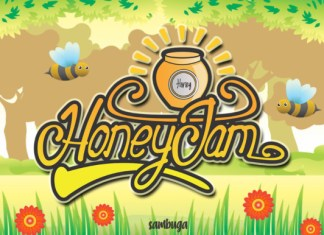 Honey Jam Font