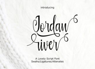 Jordan River Font